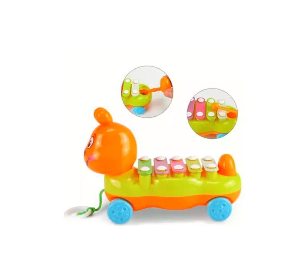 5 Scales Musical Toy Drawable Car