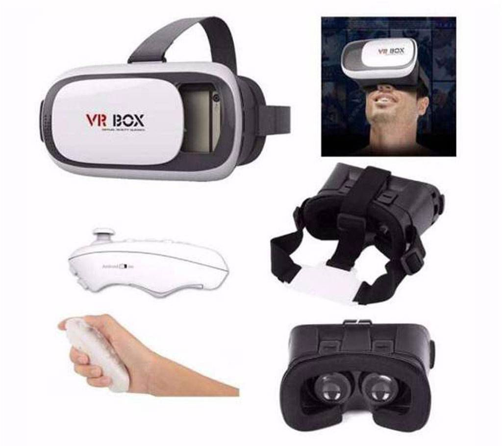 VR Box and Wireless Bluetooth Remote Control