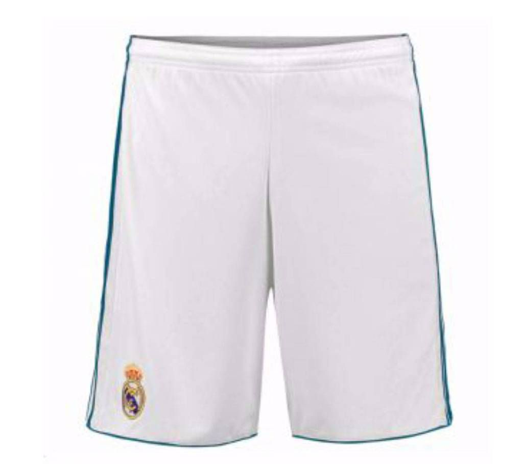 2017-18 Real Madrid Home Short Pant