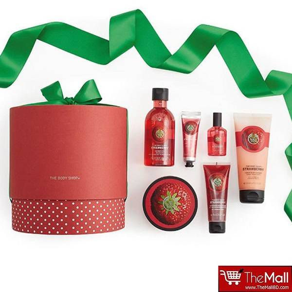 The Body Shop Strawberry Ultimate Collection Gift